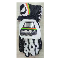 Motorcycle gloves road riding downhill locomotive off-road leather for Dain