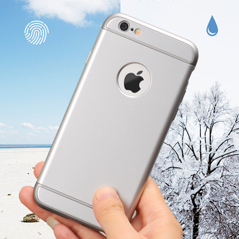 SHOCKPROOF Metallic 3 in 1 Case for iPhone 6 6s 7 iPhone6 iPhone7 3in1 cover ultra slim Hybrid Armor tough Men