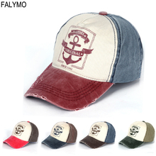 123a6cb30a9 Unisex Vintage Washed Denim Baseball Cap Casual Hipster Man Woman Caps  Printed Summer Dad Hat Visor