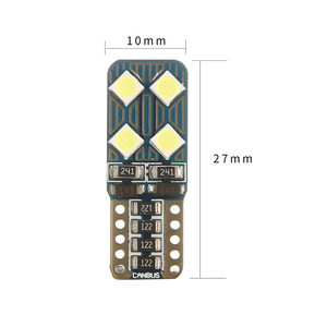 Image 4 - Car Smd T10 W5W CANBUS Auto LED light no Obc error Super bright bulb Interior of the car reading trunk luggage Light Signal lamp