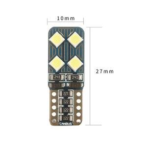 Image 4 - רכב Smd T10 W5W CANBUS אוטומטי LED אור אין שגיאת Obc סופר בהיר הנורה פנים של רכב קריאת תא מטען מטען אור אות מנורה