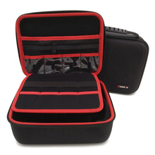 Large Size Electronic Gadgets Storage Bag Neoprene Travel Organizer Case For HDD USB Flash Drive Data