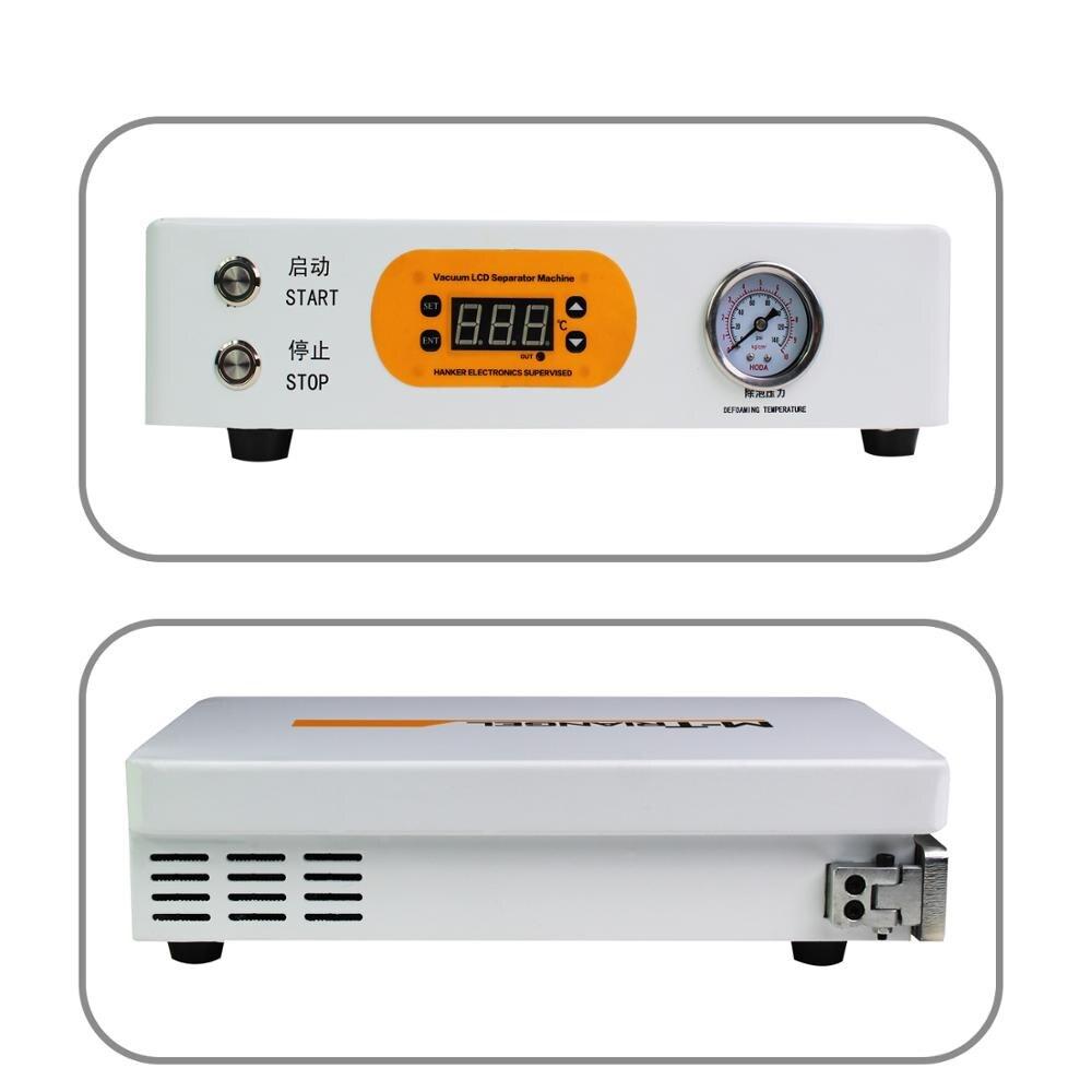 Tools : Flat Screen LCD Bubble Remover Machine High Pressure LCD Refurbishment 220V 110V 7inch Screen Need External Pump M-Triangel M1