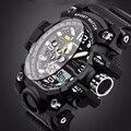 2016 nova listagem de moda homens relógio assistir à prova d' água esporte estilo militar G S Choque relógios homens marca de luxo Relogio Masculino