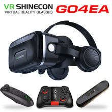 Original VR shinecon 6.0 headset upgrade version virtual reality glasses 3D VR glasses headset helmets Game box Game box VR BOX