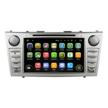 1024*600 Quad Core 8″ Android 5.1 Car dvd player for toyota CAMRY 2007-2011 With Radio GPS 3G WIFI Bluetooth TV USB Mirror link