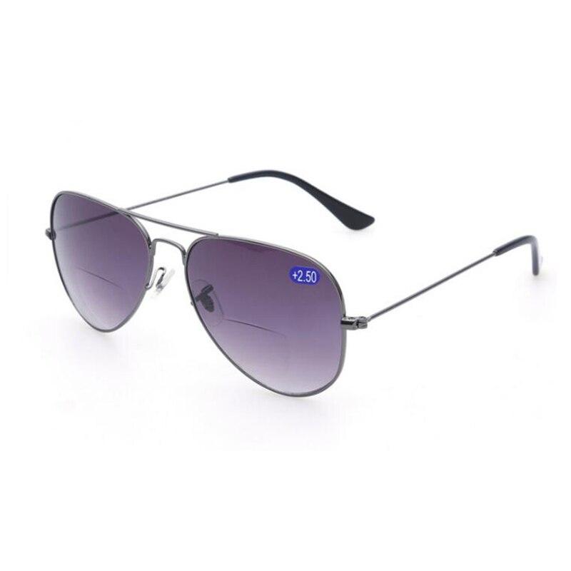 6bec650ce2 Bifocal Reading Glasses Unisex Diopter Glasses Male Sunglasses Presbyopic  Eyeglasses Leesbril +1.0+1.5+