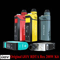 100% Original IJOY RDTA BOX 200W with 12.8ml tank IJOY IMC Interchangeable building deck system with OLED Screen E-Cig Vape Mod