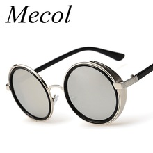 Metal Frame Gothic Steampunk Sunglasses