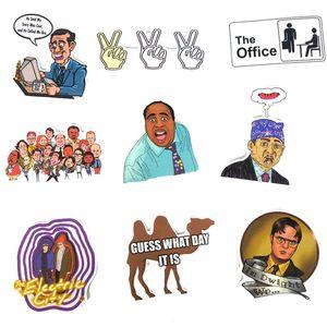 Image 5 - TD ZW autocollants Graffiti, étiquettes de séries TV américaine, pour ordinateur portable, les bagages, moto, décalcomanies en PVC, étanches, lot de 50 pièces