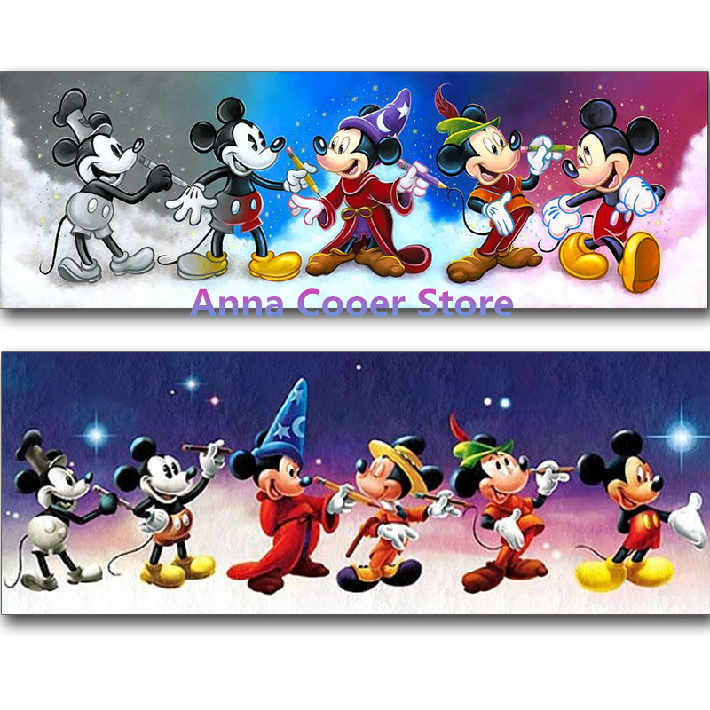 Full Square Round Drill 5d Diy Diamond Painting Quot Mickey