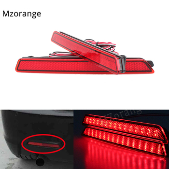 1 Pair Led Rear Bumper Reflector light for Mazda6 Atenza For Mazda2 DY 3 Axela Car parts Tail Stop Brake Lights image