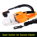 Multi-function Portable Car Vacuum Cleaner wet and dry dual use with power 120W 12V 5m of cable, LED lighting