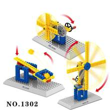 Legoelieds Compatible Technic Wheel Mechanical Building Blocks Children's Science Educational Toys(China)