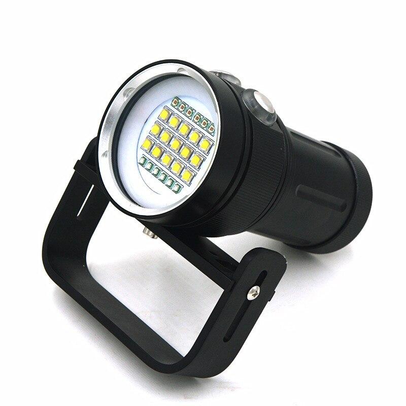 Y15 Diving video Flashlight (5)
