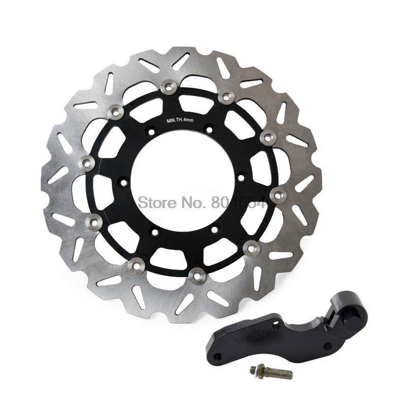 320mm Front Brake Disc & Bracket For Yamaha WR125 YZ125 WR250 WR250F YZ250 YZ250F WR400F YZ400F WR426F YZ426F WR450F YZ450F NEW fxcnc universal stunt clutch easy pull cable system motorcycles motocross for yamaha yz250 125 yz80 yz450fx wr250f wr426f wr450