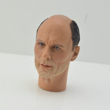 For collection 1/6 Scale Male Head Sculpt Ed Harris Enemy at the Gates Carved Model Fit 12 Solider Figure Body