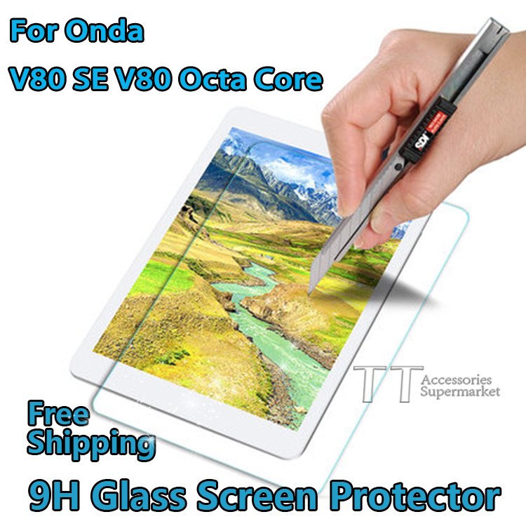 9H Tempered Glass Screen Protector For Onda V80 SE V80 Octa Core 8