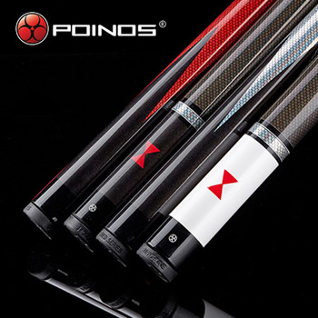 2019 China NEW POINOS 1/2 Pool Cue Stick 13mm 11.5mm Tip