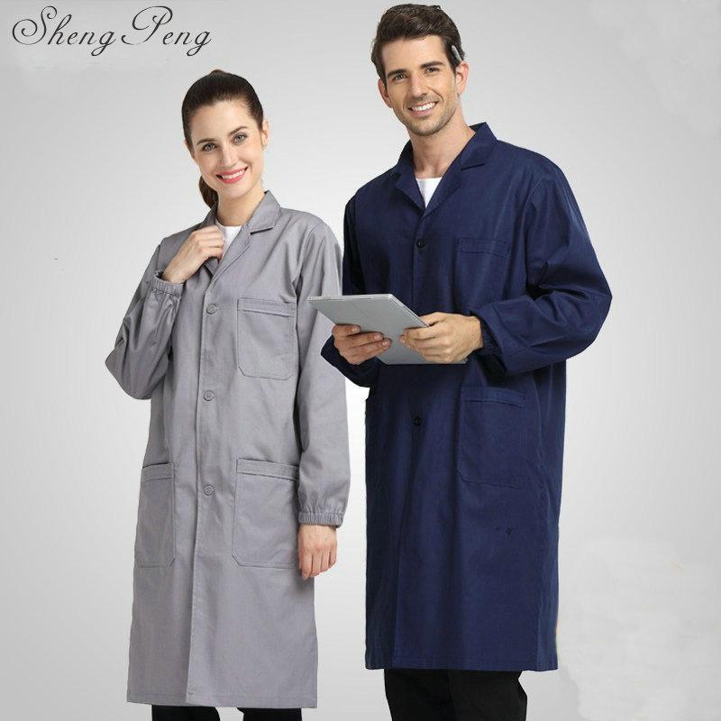 Work wear for men lab coat medical clothing robe medical uniform lab supplies male men lab coat lab coat women CC104 Одежда