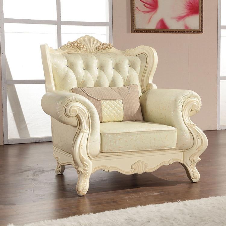 Aliexpresscom Buy Europe Classic Style Sofa Furniture Oak Wood - Classic sofa styles
