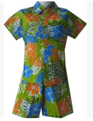 BO BO2018 male tropical beach shirt tourism costumes Two things Hawaiian shirts suit