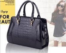 European fashion women messenger bags,Elegant Crocodile bag,Classic candy colors women handbag,noble women bag,evening bags