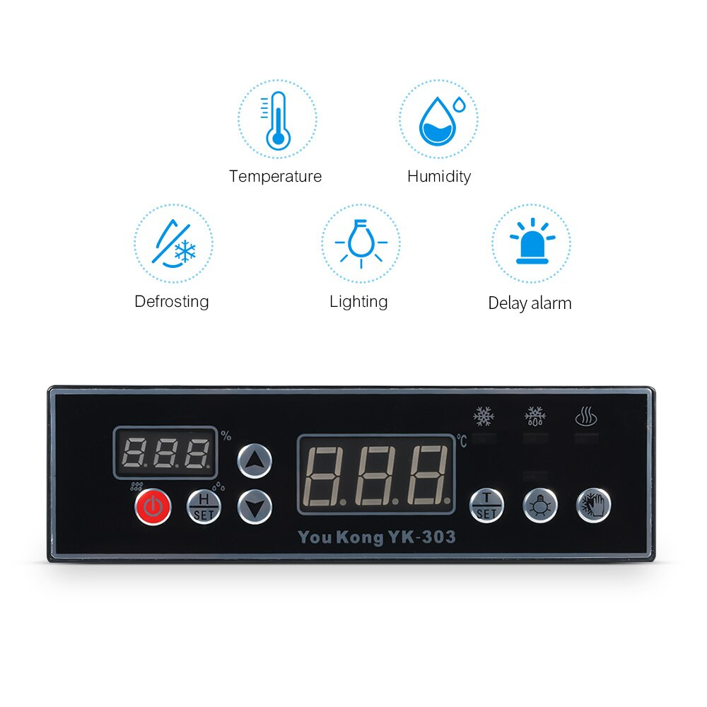YouKong YK 303 Temperature and Humidity Controller with Humidity Defrosting Control