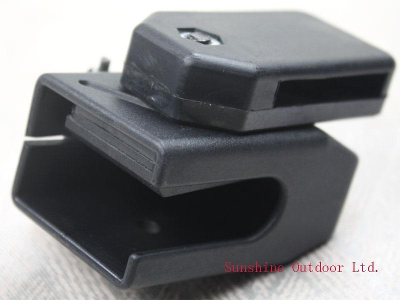IPSC jahipüstol Aksessuaarid kiiruse lennunduse ajakirja kott must tarvikud must / punane / kollane / sinine-free shipping
