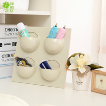 No trace of strength can be used repeatedly paste hanging rack for kitchen and bathroom supplies storage rack