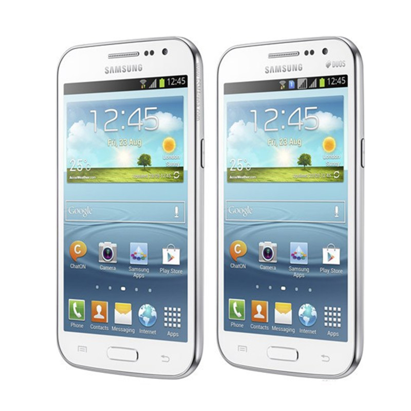Samsung Galaxy Win Original Duos 4GB 1gb Bluetooth 5mp Refurbished Mobile-Phone Touch-Screen