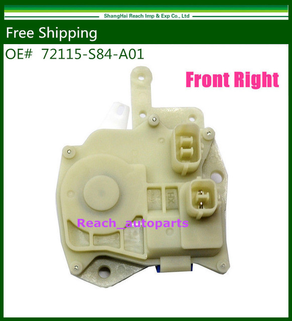 New Insight Power Door Lock Actuator Front Right Fit For Honda Odyssey Civic OE#:72115S84A01