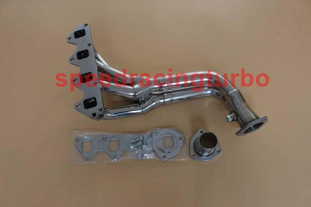 exhaust header for suzuki samurai geo tracker 1 3l 1 6l l4 stainless manifold