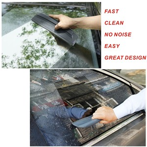 Image 5 - Essuie glace écologique en Silicone gris foncé, 1 pièce, raclette de lavage de voiture, nettoyage des vitres, qualité conforme aux normes japonaises, livraison gratuite