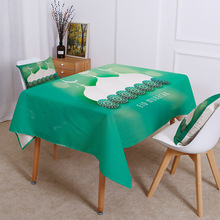 Religious supplies, Muslim table cloth, Islamic table cloth, mosque waterproof tablecloth, factory direct waterproof table cover c20 id waterproof direct factory card
