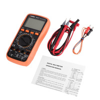 RuoShui 9805A+ Digital Multimeter 1999 Counts True RMS AC/DC Volt Amp Ohm Temperature Inductance Diode hFE Continuity Tester