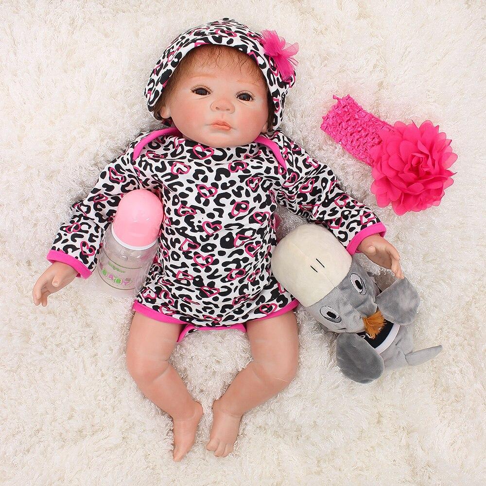 Bébé reborn silicone poupées jouets 19