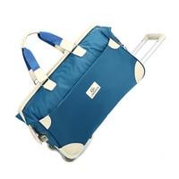 New Waterproof Travel Bag Men Women Trolley Bag Large Capacity Oxford Duffle Bag Unisex Carry on Luggage bag Rolling Luggage