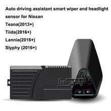 Auto driving assistant smart wiper and headlight sensor for Nissan Teana Slyphy ветровики skyline nissan teana 2014 хром молдинг