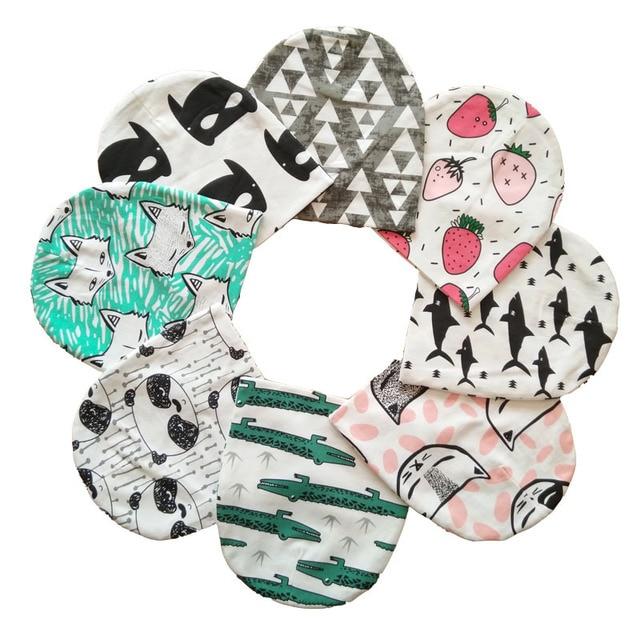 Детская шапка хлопка печати шапки для маленьких мальчиков и девочек детская Шапка-бини весна осень зима детские шапки