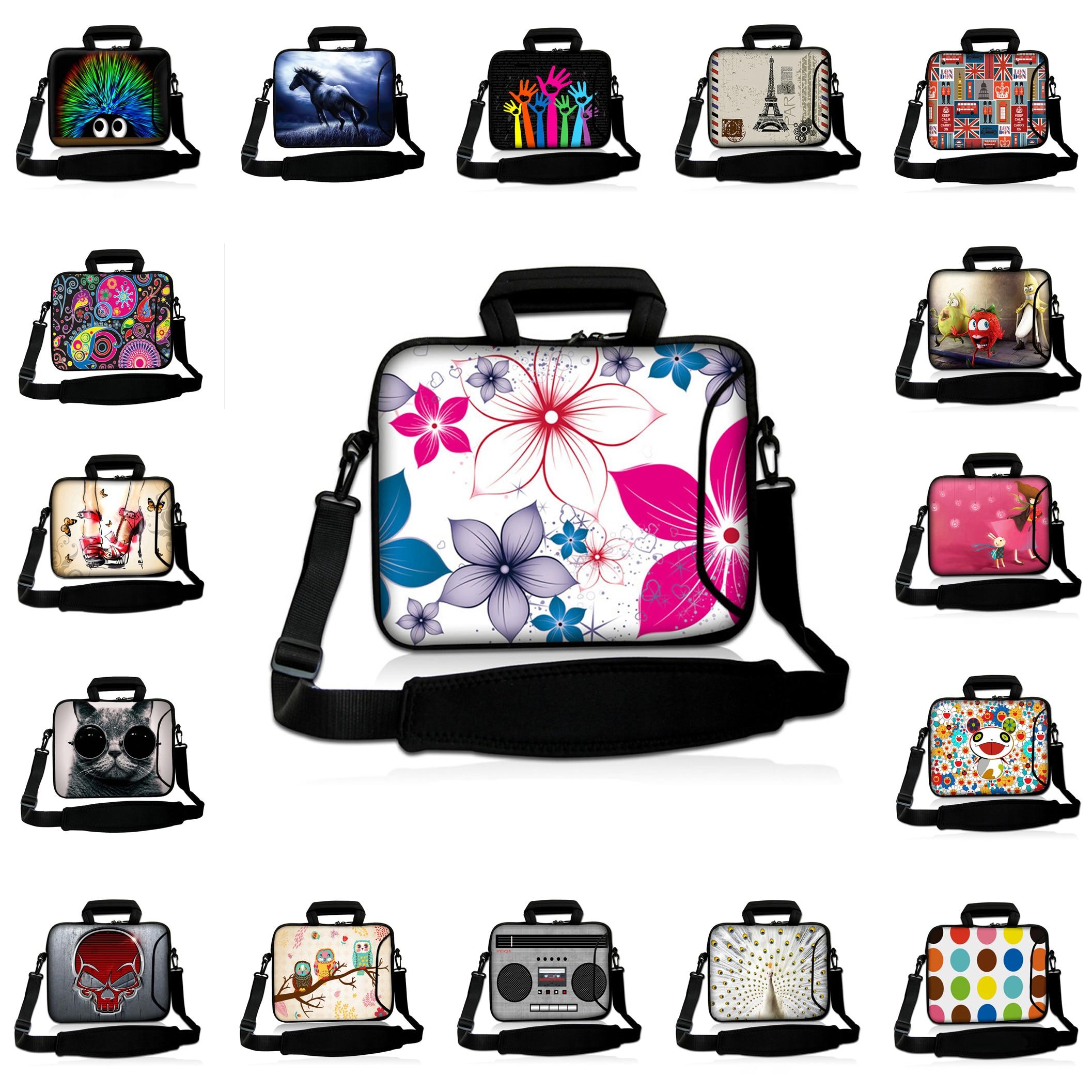 Notebook Shoulder Bags 10 Tablet 10.1 9.7 12 Netbook Nylon Briefcase 13.3 14 15.6 17 Waterproof Nylon Laptops Messenger Bag