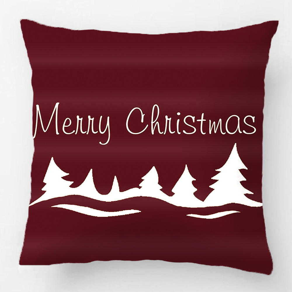 Merry Christmas Peace On Earth Holiday Throw Pillow Case Decorative Cushion Cover Pillowcase Customize Gift By Lvsure For Seat