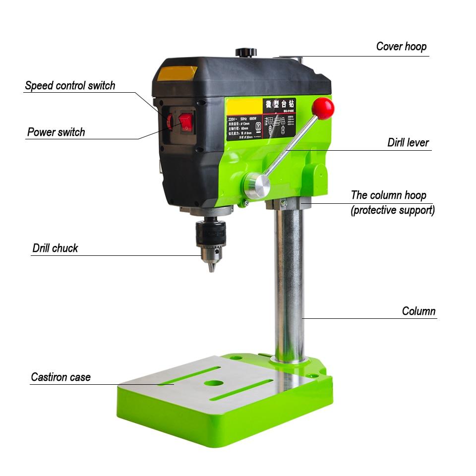 hight resolution of drill press 11