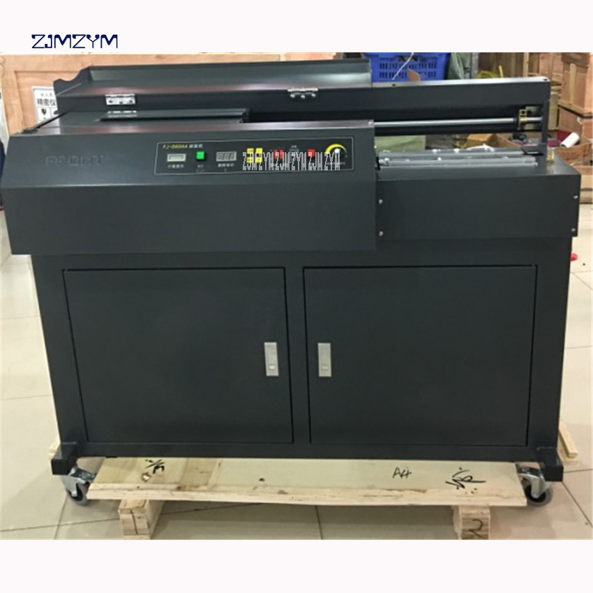 Fj-S60A4 Computerized Scorching Soften Glue Hardcover E-book Binding Machine Most Size Of The System 320Mm,220V/50 Hz Binding Machine