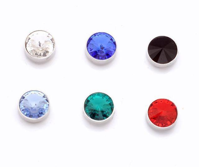 Magnet Stud Earring 9mm Satellite Stone Rhinestone Magnetic Earrings 4033