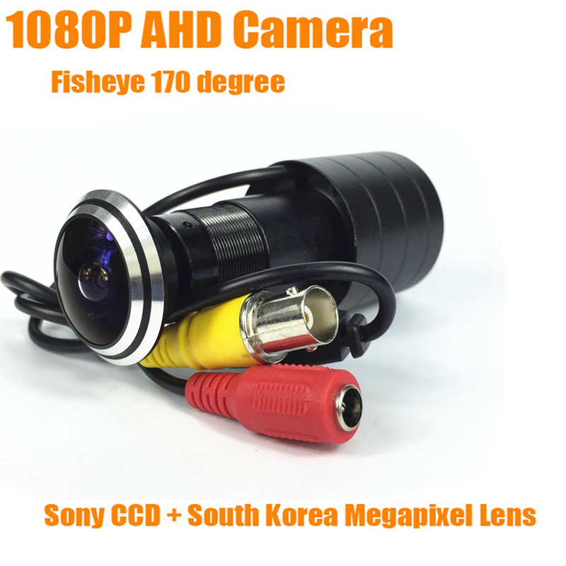 1080P Door Eye HD AHD Peephole Camera SONY IMX323 CMOS Sensor StarLight 0.0001 Lux 170 degrees 1.78mm Cat Eye CCTV Camera hd sony 700tvl 960h cat eye door hole