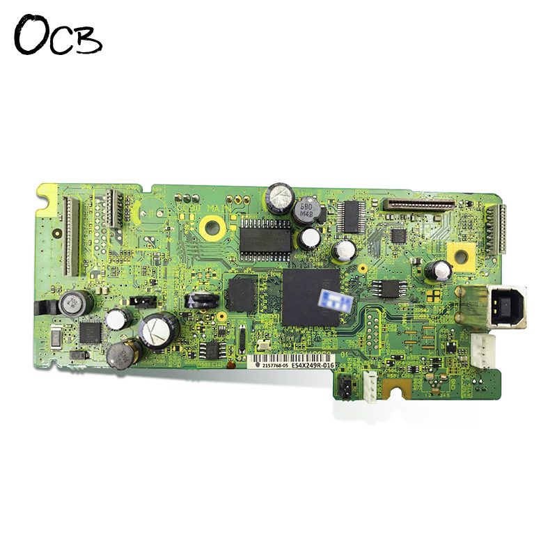 Original Mainboard Main Board For Epson L355 L358 L365 L380 L385 M101 M201 Printer Formatter Board 2158970 new and original mother board for epson l380 l383 l385 l386 l355 printer main board pcb assy