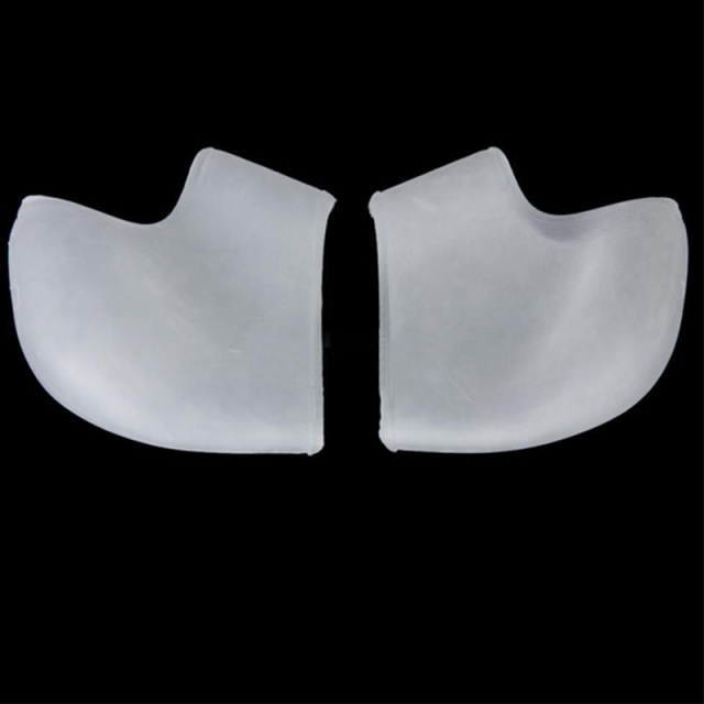 Shock Absorbing Silicone Gel Heel Sleeve 4