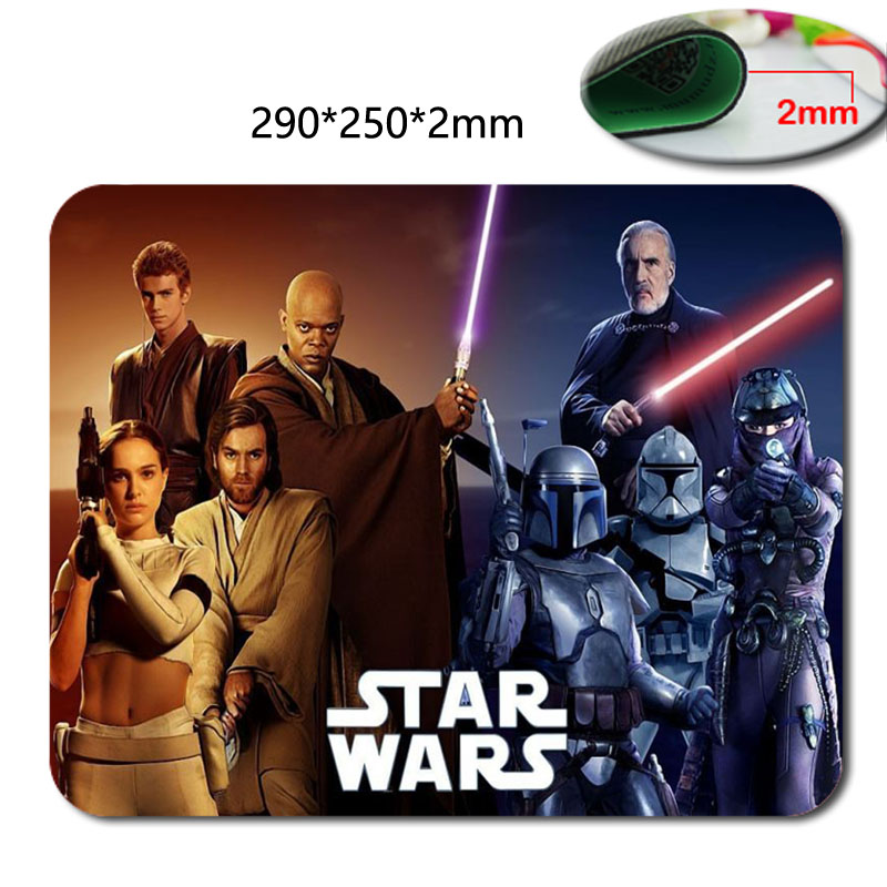 Hot custom fast printing sith Star Wars film printing design professional game mouse pad notebook mouse pad 220 * 180 * 2 (mm) image