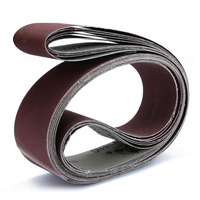 6Pcs 2 X 72 Grit Sanding Belts 180 240 320 400 600 800 Grit For Wood